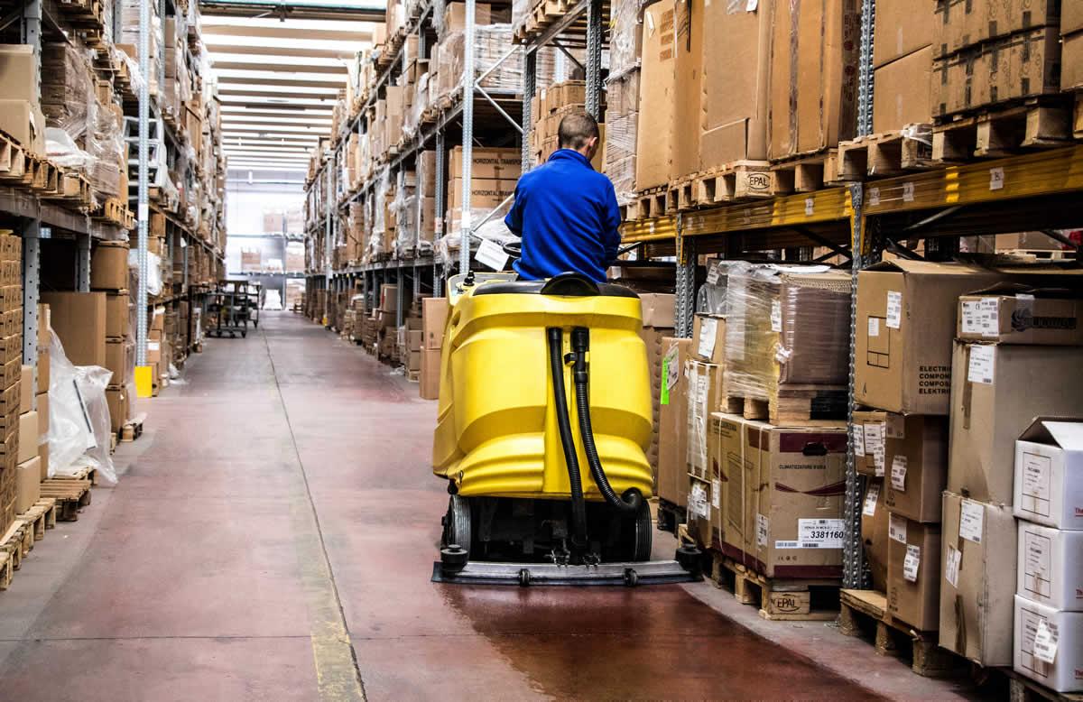 Servizio di pulizie industriali Cooperativa Galileo Fabriano
